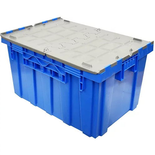 Caja de Plástico Con Tapa de Bisagras Colosal Culiacán 87cm x 60cm x 48cm