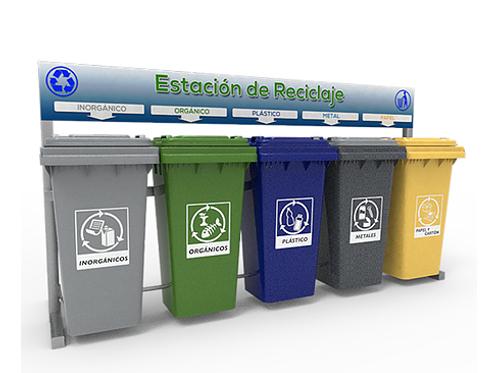 Estación de Reciclaje ECOL 600 HD1