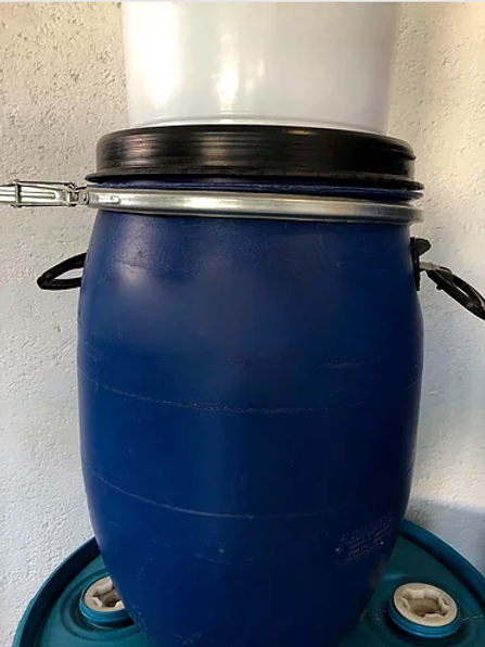 Tambor Standard Deckel 50 litros