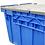 Thumbnail: Caja de Plástico Con Tapa de Bisagras Colosal Culiacán 87cm x 60cm x 48cm