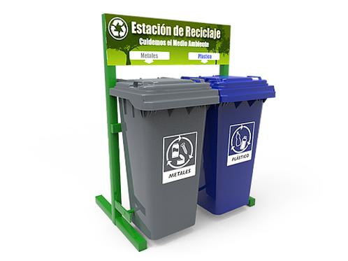 Estación de Reciclaje ECOL 240 HD1