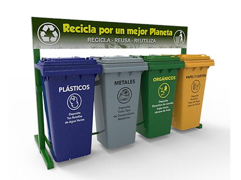Estación de Reciclaje ECOL 480 HD1