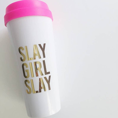 Slay Girl Slay Travel Mug