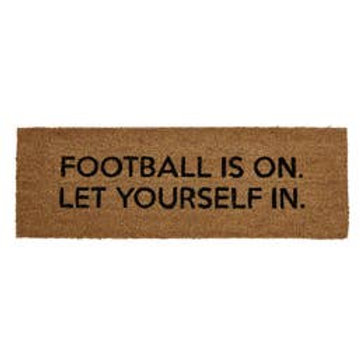 Football Fan Rug