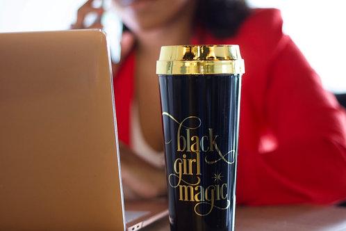 This is Black Girl Magic Travel Mug