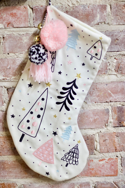 Holiday Forest Stocking