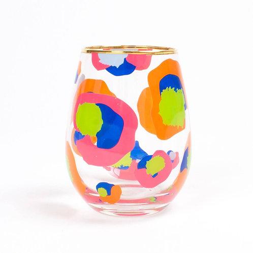 Laughable Leopard glass