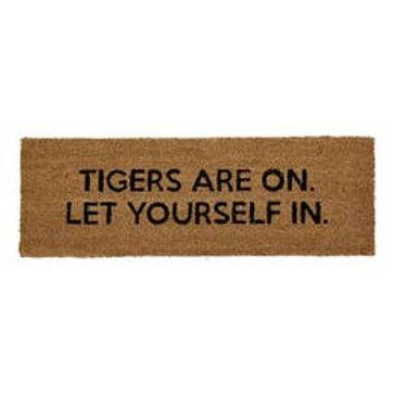 Football Fan Rug - Tigers