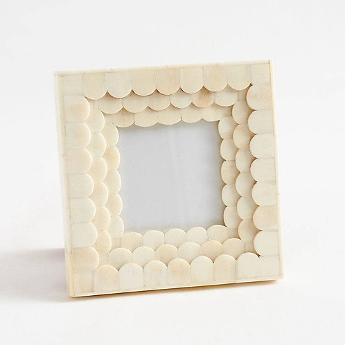 Scalloped Inlaid Frame