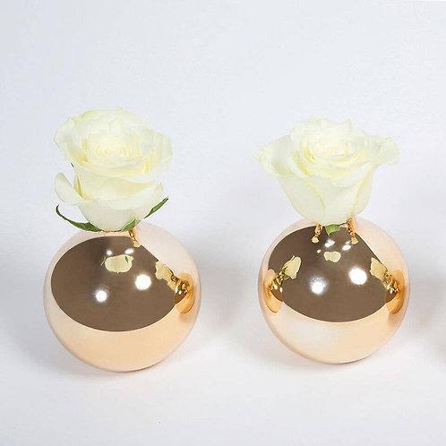 Gold Bud Vase