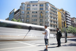 Calle Arago, Barcelona. Spain.