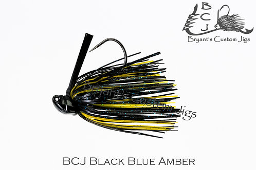 Black Blue and Amber