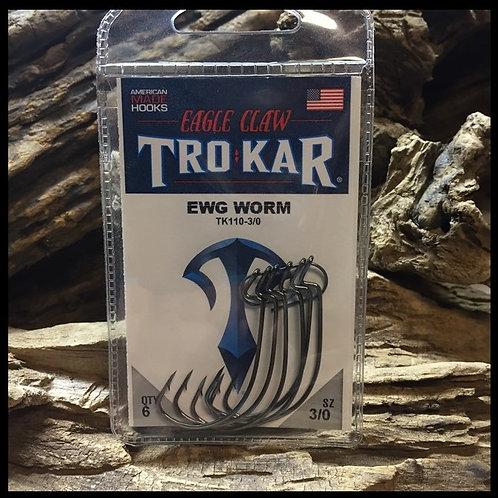 Lazer Trokar EWG Worm Hook