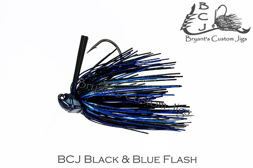 Black and Blue Flash