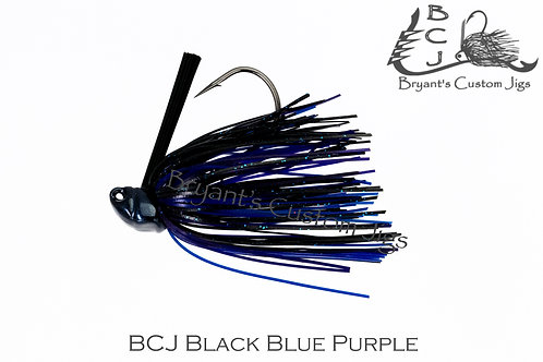 Black Blue and Purple