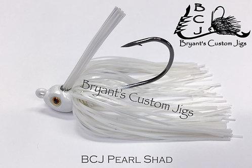 Pearl Shad Swim Jig