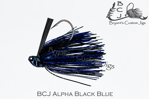 Alpha Black and Blue