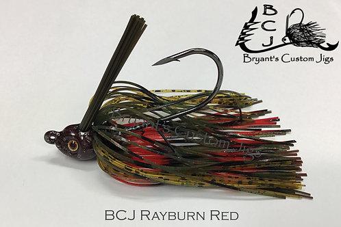 Rayburn Red Swim Jig