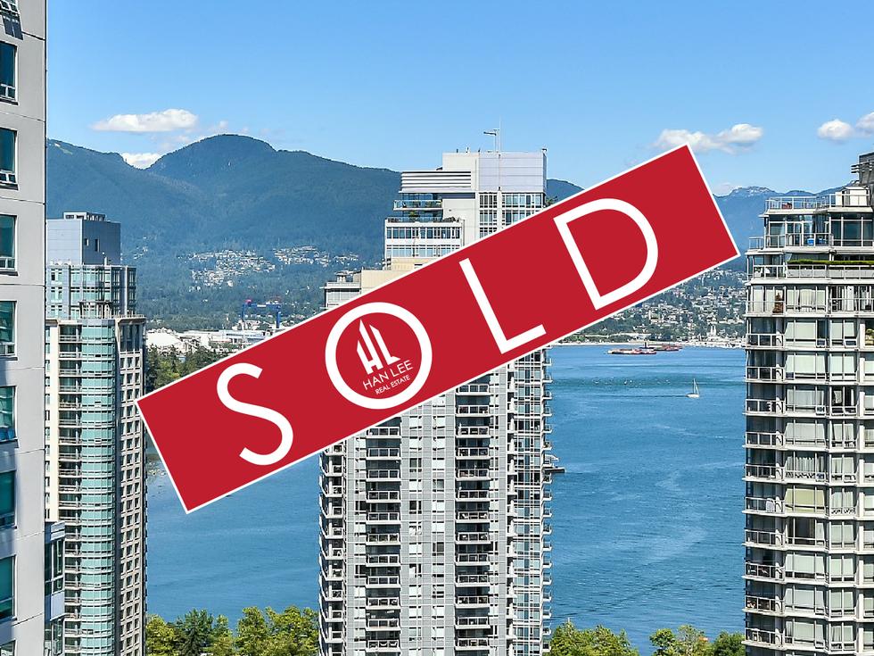 2308 - 1239 W Georgia St. Vancouver - $880,000