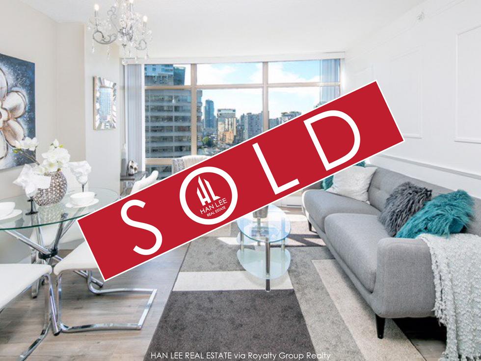 1701 - 1200 Alberni St. Vancouver - $1,075,000
