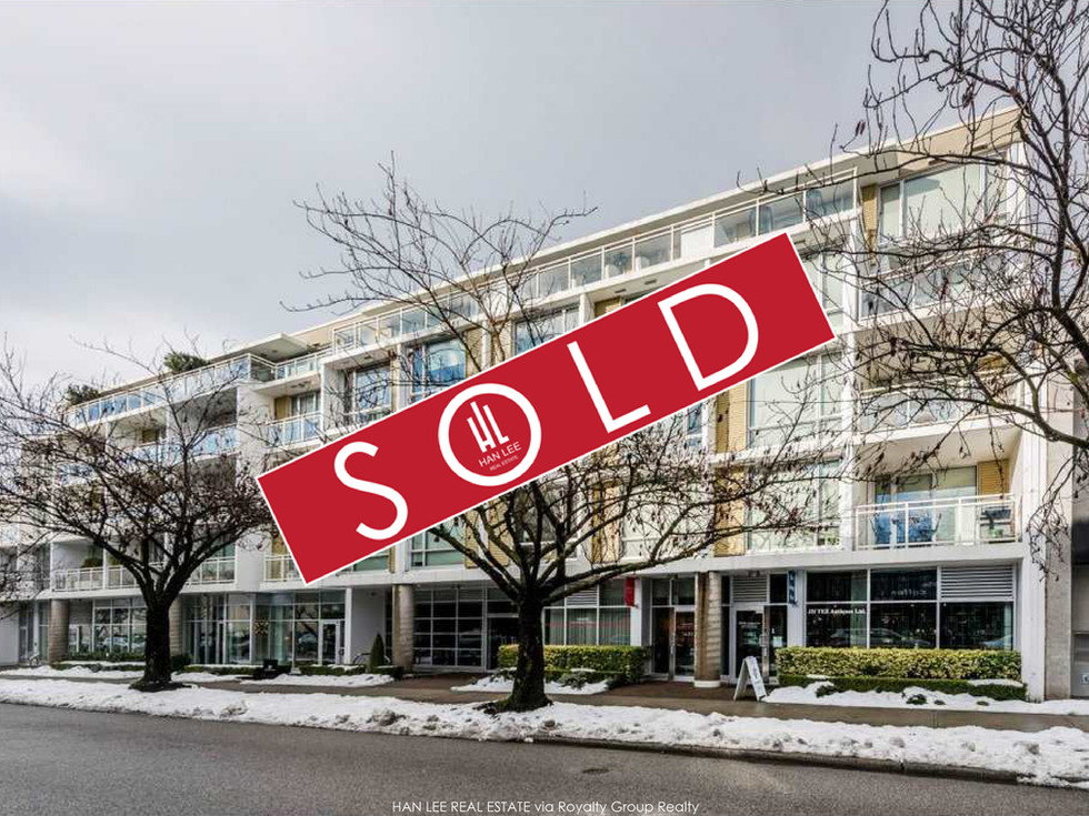 412-1635 W 3rd Ave. Vancouver - $753,000