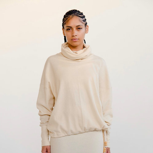 SS20 Drawsting Turtleneck