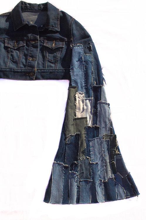 Hand-patch Crop Jacket