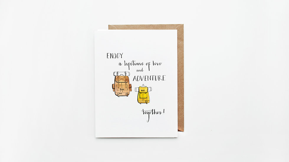 Love & Adventure Card