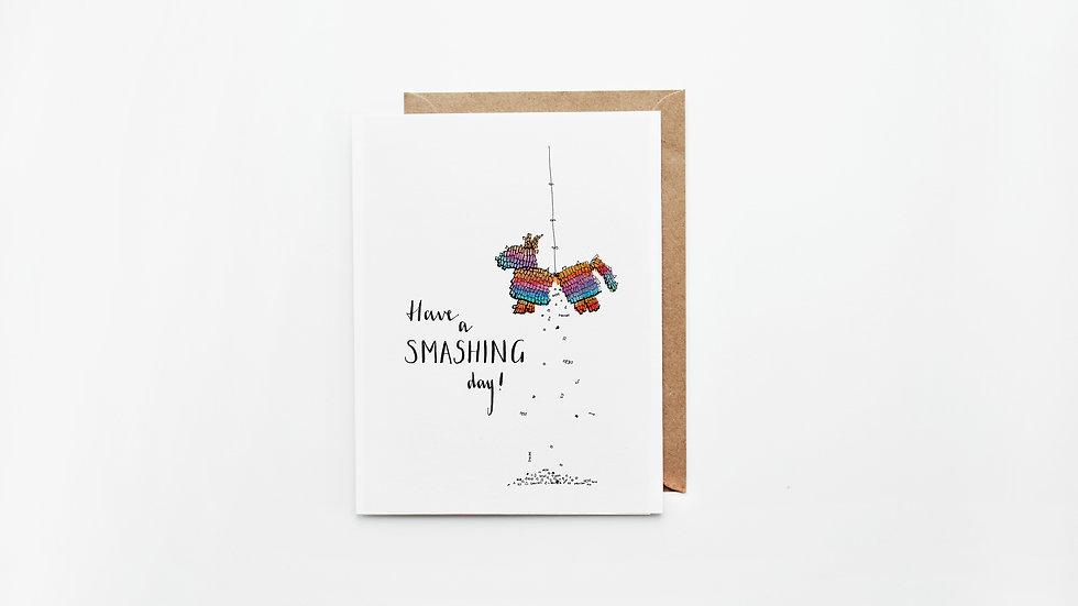 Piñata Card