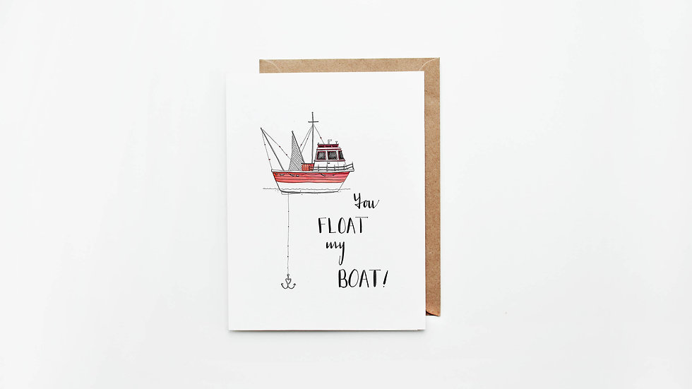 Float my Boat Card