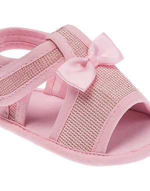 Sandália Arco Íris Rosa Bebê  Feminino- Pimpolho
