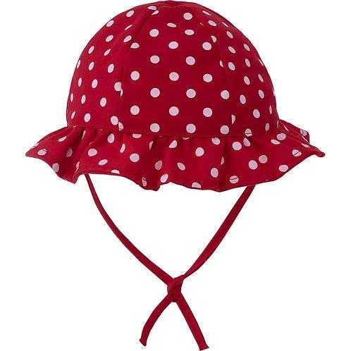 Chapéu para bebê - Vermelho Bolinhas  - Pimpolho