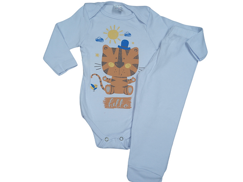 Conjunto Body + Calça de Bebê Masculino - Kappes
