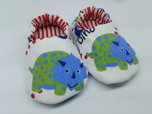 Sapatinho de bebê pantufa masculino- Lilifish