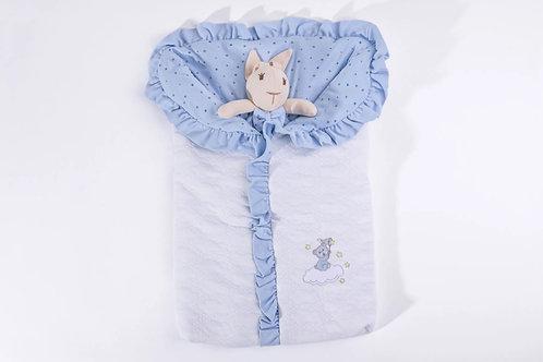 Porta Bebê Brilha Brilha Estrelinha Azul