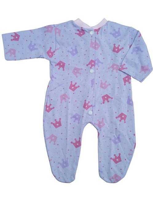 Macacão para Bebê Coroas