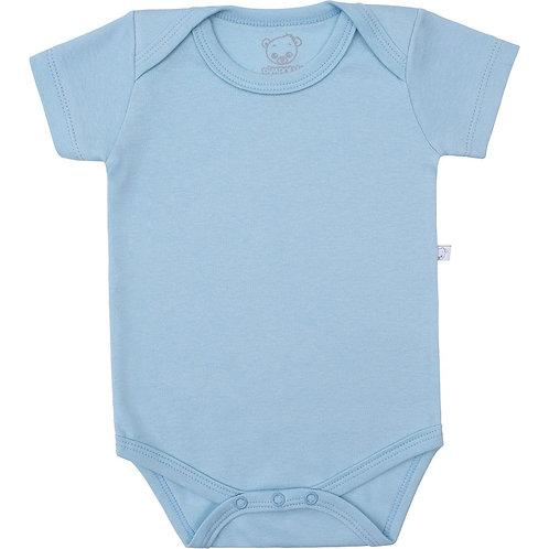 Body Liso Azul Bebê - Pimpolho