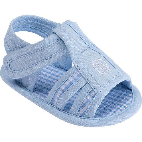Sandália Arco Íris Azul Bebê - Pimpolho