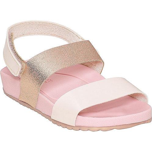 Sandália Velcro Tira Dupla Feminino - Pimpolho