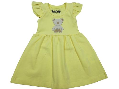 Vestido de Bebê Trenzinho