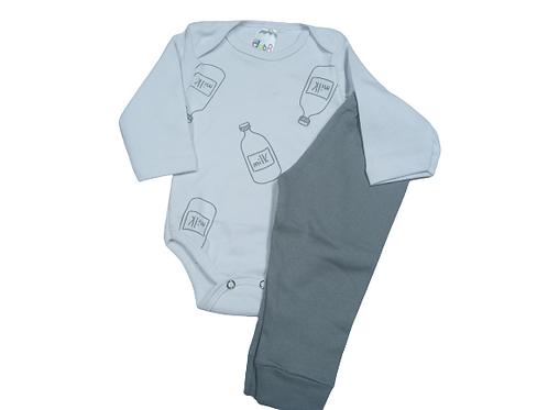 Conjunto Body + calça  unissex- Kappes