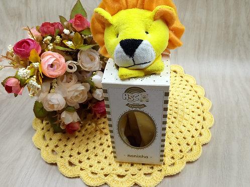 Naninha Bichinhos Leão amarelo