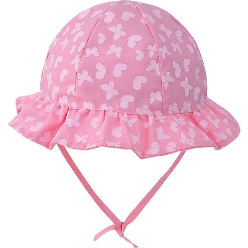 Chapéu para bebê - Borboletas Rosa - Pimpolho