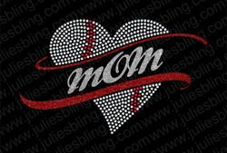 Baseball Heart with glitter mom.jpg