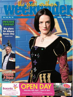 Great Southern Weekender cover