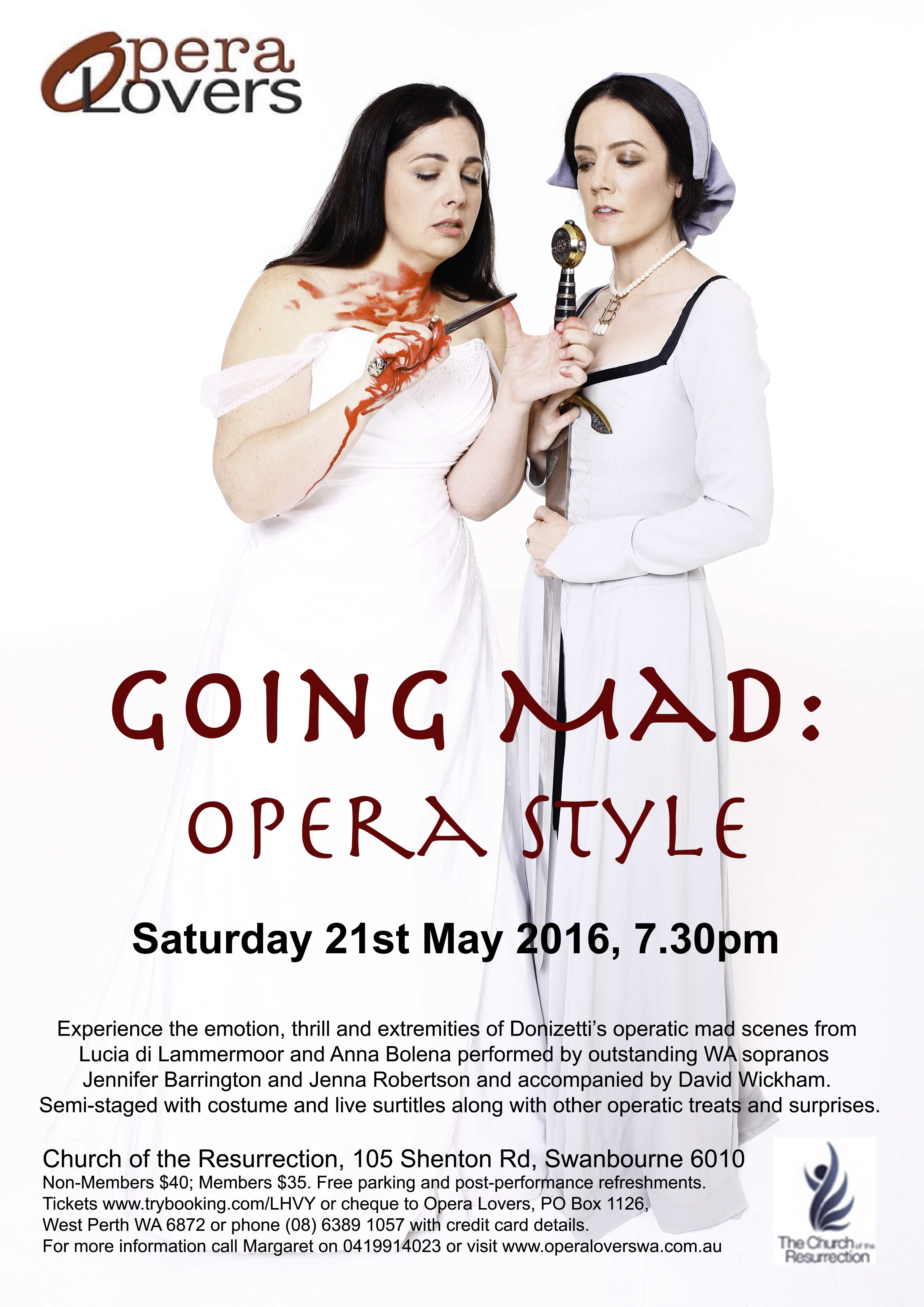 Going Mad: Opera Style Poster