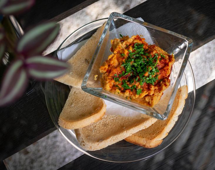 Hummus de la casa