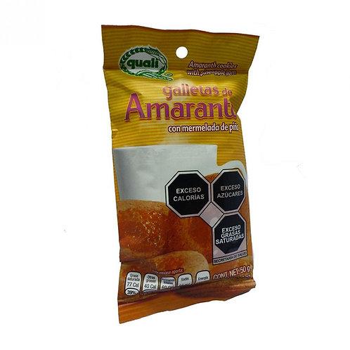 Galleta de amaranto sabor piña 50 gr