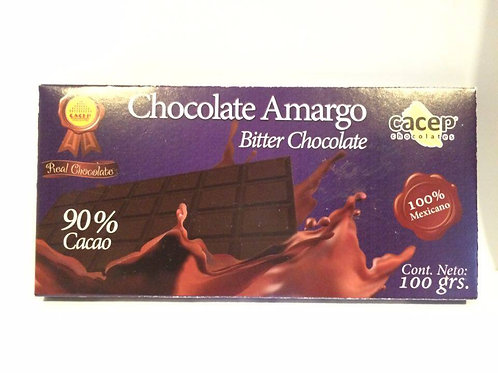 Chocolate 90% 100 gr.