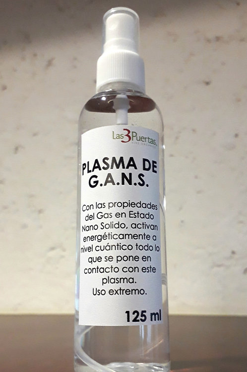 Agua de plasma 125 ml
